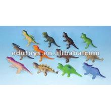 Juguetes de plástico de dinosaurio