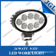 New Arrival 10-30V 24W Super Bright LED Work Lamp Light Working Lamp Tractor Offroad Flood Beam/Spot Beam Work Light 24W LED Driving Light