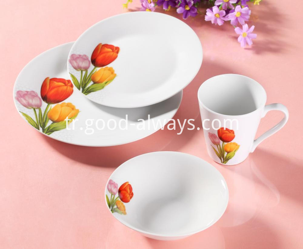 Porcelain dinne set 9