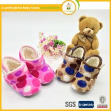 2015 высокое качество низкой цене новорожденного самые теплые зимние детские ботинки 0-8mos