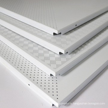 Perforated Particle Board Modern Metal Ceiling Tile Design