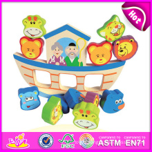 2014 Wooden Block Set Balance Children Toy Set, Popular Balance Children Toy Game, Hot Sale Preschool Children Toy W11f040