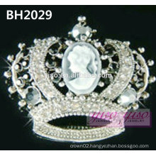 hot sale crown crystal pin
