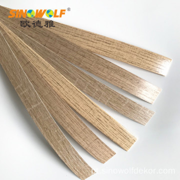 Venda Popular Ambiental ABS Borda De Borda Woodgrain