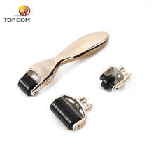 Factory direct wholesale gold plated adjustable derma roller