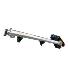 Conveyor Elevating Screw Feed Conveyor Industrial Carbon