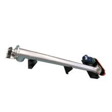 Transportador Elevador de tornillo Transportador de alimentación Carbono industrial