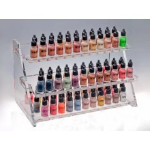 Promotion Cosmetic Acrylic Nail Polish Display Case