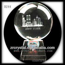 K9 3D Laser Gebäude Modell in Crystal Ball