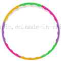 OEM New Product PE Split Joint Hula Hoop for Promotional Gift