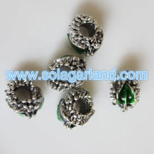 10*15MM Elegant Oil Drop Emerald Style Pendants For Jewelry Making