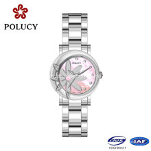 Customized Stainless Steel Back Sapphire 3 ATM fashion Quartz Watch