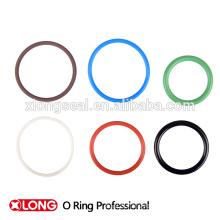 Bague ornée de cachetage flexible personnalisée et colorée