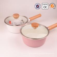 Enamelware Casserole industrial steam cooking pot
