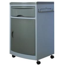 Шкаф серого цвета для палаты стационара