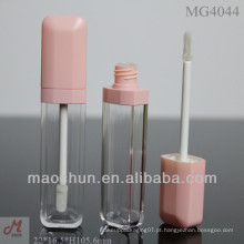 MG4044 Design exclusivo Embalagem lisa para brilho labial