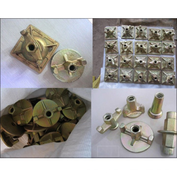 High quality galvanized scaffolding wing nuts