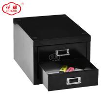 Armazenamento de aço do armário da gaveta do mini Desktop