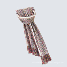 Женские классические проверено вязаная Зимняя печать шаль шарф (SP307)