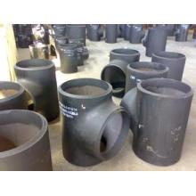 Tees dos encaixes de tubulação, ASTM B363 Gr. 12 T, titânio