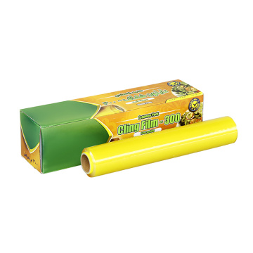 professional plastic food wrap film with slide cutter