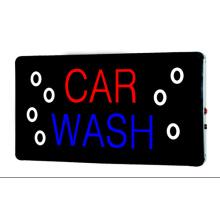 Lavagem de carro de sinal LED