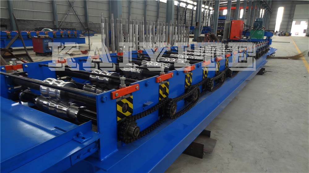 Corrugated Machine For Construction
