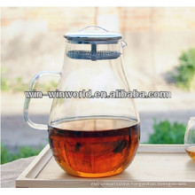Collapsible Clear Glass Insulated Stainless Steel Filter Cool Water Jug