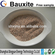 Bauxite manufacturer supply high grade calcined bauxite price