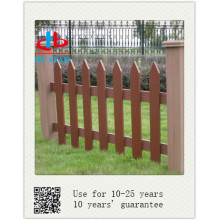 wood platic composite fence screen
