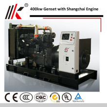 4MW GENERATOR WITH 500KVA SHANGHAI DIESEL DYNAMO SOUNDPROOFING GENSET