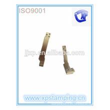 El metal caliente de la venta que estampa las piezas, placa eléctrica del contacto de los accesorios