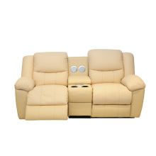 Genuine Leather Living Room Modern Furniture Comfortable Recliner Home Theater Sofa