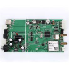 Conjunto eletrônico da placa de circuito impresso THT SMT