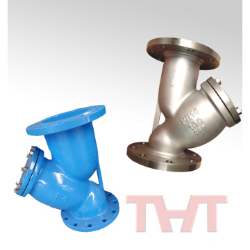 Cast iron / Stainless steel Y type strainer