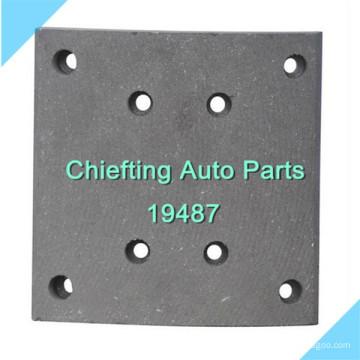 19495 21948700 MP321 pour MERCEDES BENZ sans amiante 19487 auto doublure de frein