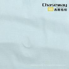 Uni Polyester Ranyon Viskose Blend Gewebe