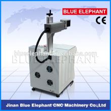 Machines portatives de marquage de fibre de 10W 20W, marquage de fibre métallique