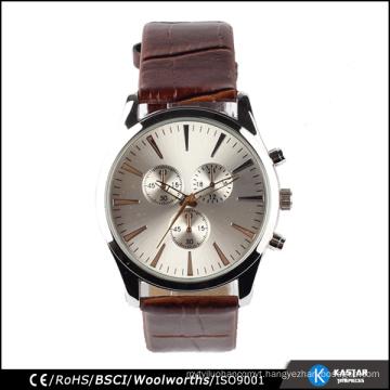 fashion leather watch men miyota movement