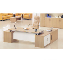 Cheap modern melamine office desk for reception area