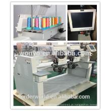 multi head cap & t-shirt computador controlado máquinas de bordar 1202C WONYO