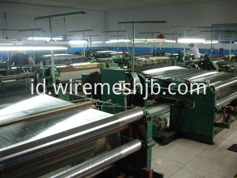 Weaving Looms for Stainless Steel Plain Woven Wire mesh