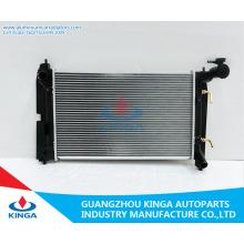 Radiador de automóvel de alumínio de melhor qualidade para Toyota Corolla 01-04 Zze122 em
