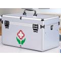 Portable Multifunctional Aluminium Alloy Medicine Kit (without Medicine)