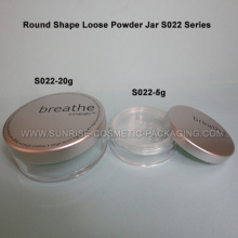 5g 10g Round Shape Powder jar with sifter