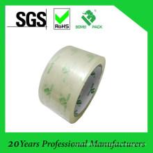 Прозрачная лента bopp для упаковки коробки с логотипом печати