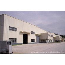 Almacén de estructura de acero de alta calidad y rápida instalación