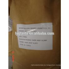 Monocálcico Fosfato monohidrato grado alimenticio (mcp) lianyungang taida