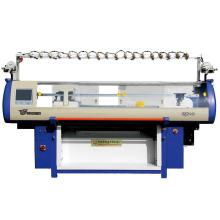 nouvelle production automatique système double pull ordinateur plat machine à tricoter dans le Jiangsu, Chine