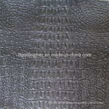 Top Grade Crocodile Design for Upholstery Leather (QDL-53203)